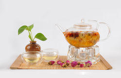 flower tea Royalty Free Stock Photography