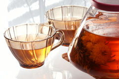 Flower tea Stock Photo