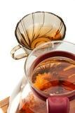 Flower tea royalty free stock photography