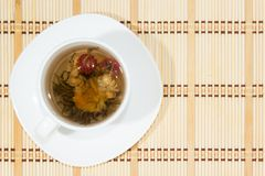 Flower tea Stock Image