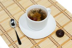 Flower tea Stock Images