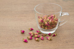 Flower tea rose buds Stock Photo
