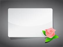 Flower template illustration design Royalty Free Stock Image