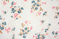Flower textile pattern Stock Photography
