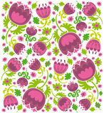 Flower texture vector illustration