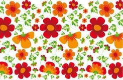 Flower texture stock illustration