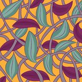 Flower_texture. Abstraction. vector illustration