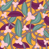 Flower texture. Abstraction royalty free illustration