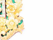Flower texture background ,thai craft Stock Images