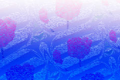 Flower  texture  white blue Background  design Stock Images