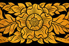 Flower thai art pattern Stock Photo