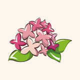 Flower theme elements vector,eps Royalty Free Stock Images