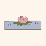 Flower theme elements vector,eps Stock Photo
