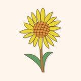 Flower theme elements vector,eps Stock Image