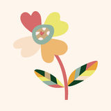 Flower theme elements vector,eps Royalty Free Stock Photography