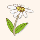 Flower theme elements vector,eps. Vector illustration file Royalty Free Stock Photos