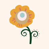 Flower theme elements vector,eps. Vector illustration file Royalty Free Stock Photography