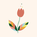 Flower theme elements vector,eps Stock Photography