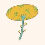 Flower theme elements vector,eps. Vector illustration file Stock Photo