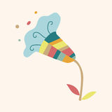Flower theme elements vector,eps. Vector illustration file Royalty Free Stock Photo