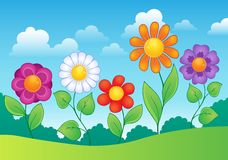 Flower theme image 9 Royalty Free Stock Images
