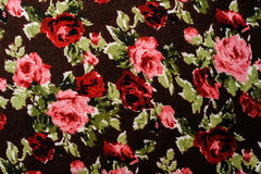 Flower tile fabric Royalty Free Stock Images