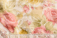 Flower tile fabric Royalty Free Stock Photo