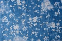 Flower tile fabric Stock Image