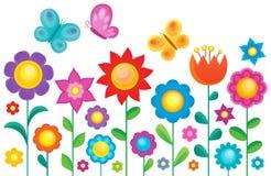 Flower topic image 1 Stock Photo