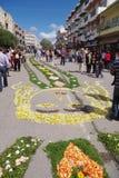 Flower torch festival Stock Image