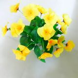 Flower toy. Beautiful flower and best yellow color Royalty Free Stock Images
