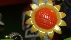Flower - toy stock video footage
