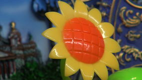 Flower - toy stock footage