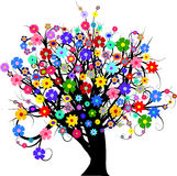 Flower tree Royalty Free Stock Photo