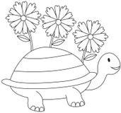 Flower turtle Stock Photos
