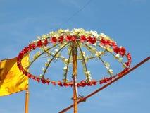 Flower umbrella Stock Photo