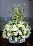 Flower vase. Beautiful Flower vase - close up Stock Photos