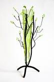 Flower vase. Photo of the beautiful light green flower vase Stock Photos