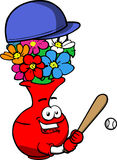 Flower vase Baseball Batter Stock Photos