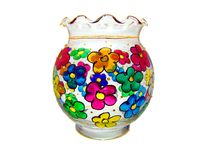 Flower vase / bowl Stock Images