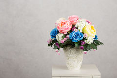 Flower vase Royalty Free Stock Images
