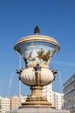 Flower vase fountain in Sharjah Royalty Free Stock Image