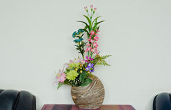 Flower vase. Stock Image