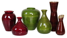 Flower vase. Isolated Royalty Free Stock Image