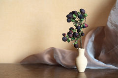 Flower In Vase Stock Photos