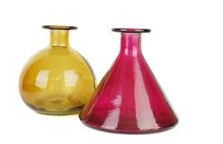 Flower vases Royalty Free Stock Image