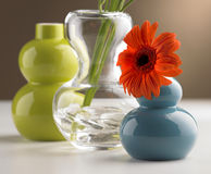 Flower Vases Royalty Free Stock Photography