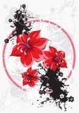 flower vector Στοκ εικόνες με δικαίωμα ελεύθερης χρήσης