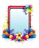 Flower vector banner Royalty Free Stock Image