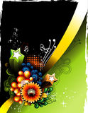 Flower vector banner Royalty Free Stock Images